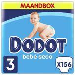 Luiers maat 3 - Seco - Maandbox - 156 luiers