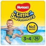 Little Swimmers - zwemluiers - maat 3/4 - (7 tot 15 kg) - voordeelbox