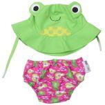 UV zwemluier setje Flippy the Frog - maat M