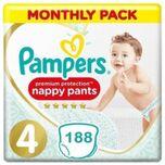 Premium Protection Pants Maat 4 - 188 Luierbroekjes Maandbox