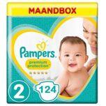 Premium Protection Luiers Maat 2 – 124 Luiers Maandbox