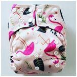 A14 AIO One Size Pocket luier flamingo