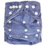 Wasbare luier  / Pocket luier Fleece - met luier inlegger/ Jeans