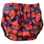 Zwemluier Aquanappy Strawberry Junior Rood One-size