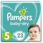 Baby Dry Maat 5 - 23 Luiers