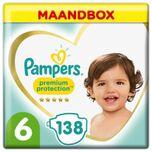 Premium Protection - Maat 6 - Maandbox - 138 luiers