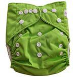 Wasbare luier  / Pocket luier Fleece - met inlegger/ Groen