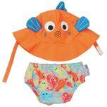 UV zwemluier setje Sushi the Tropical Fish maat M