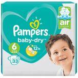 Baby Dry Luiers - Maat 6 - 33 stuks