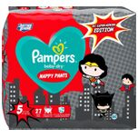 Pants Baby Dry - Luierbroekjes - Maat 5 - Junior - 12-17kg - Limited Edition, 27 St