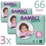 3X Nature Baby Luiers 6 XL 16-30kg 60ST - TRIPLE DEAL!