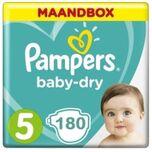 Baby Dry Maat 5 - 180 Luiers Maandbox