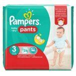 Baby Dry Luierbroekjes - Maat 3 (6-11kg) - 104 stuks