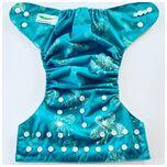 One Size Luierbroekje vlinder turquoise