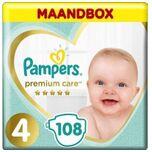 Premium Care - Maat 4 - Maandbox - 108 luiers