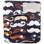 Pocketluier klittenband - Snorren zwart