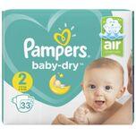 Baby-Dry - Maat 2 33 stuks