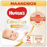 Newborn luiers - Maat 2 - (3 tot 6 kg) - 210 stuks - Voordeelbox