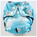 AN7 AIO Newborn wasbare Pocket luier boot