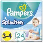 Splashers Zwemluiers Maat 3/4 - 24 Stuks