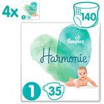 Harmonie / Pure Maat 1 (2-5 kg) 140 luiers