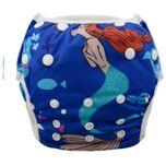 Zwemluier Wasbaar - Zeemeermin(3) - 4 tot 18 kg
