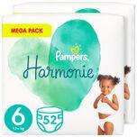 Harmonie Maat 6 (13kg+) - Voordeelverpakking 2 x 52 Luiers