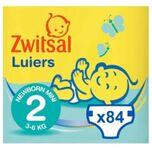 Zwitsal Luiers - Newborn Mini Maat 2 - 84 Luiers - Voordeelverpakking