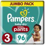 Baby Dry Pants - Maat 3 - Jumbo Pack - 96 stuks