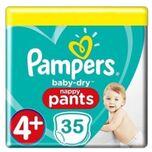 Baby Dry Pants Maat 4+ - 35 Luierbroekjes