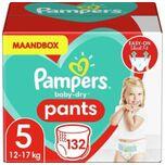 Baby-Dry Pants Luierbroekjes - Maat 5 (12-17 kg) - 132 stuks