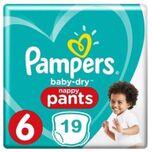 Baby Dry Pants Maat 6 - 19 Luierbroekjes