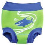Zwemluier Sealife Junior Neopreen Groen/blauw Maat M