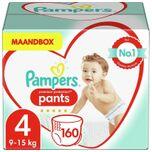 Premium Protection Pants - Luierbroekjes - Maat 4 (9-15 kg) - 160 stuks - Maandbox - Monthly box