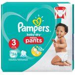 Baby Dry Pants Luierbroekjes - Maat 3 (6-11 kg) - 26 stuks