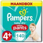 Baby Dry Pants Maat 4+ - 140 Luierbroekjes Maandbox