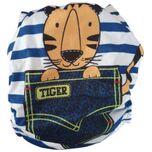 Wasbare luier - met luier inlegger / Pocket luier - / Tiger Stripe