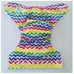 One Size Luierbroekje zigzag kleur