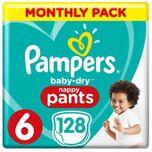 Baby Dry Pants Maat 6 - 128 Luierbroekjes Maandbox