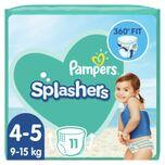3x Splashers Zwemluiers Maat 4-5 (9-15 kg) 11 stuks
