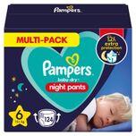 Baby Dry Night Pants Luierbroekjes Maat 6 (15kg+) 124 stuks
