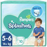 8x Splashers Zwemluiers Maat 5 (14 kg+) 10 stuks