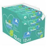 Billendoekjes Fresh Clean Navulpak 12x52=624 doekjes