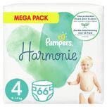 2x Harmonie Luiers Maat 4 (9-14kg) 66 stuks