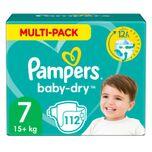 Baby Dry Luiers Maat 7 (15 kg+) 112 stuks