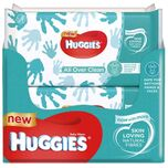 Babydoekjes All Over clean - Voordeelverpakking 6 x 56 Stuks (336 doekjes totaal)
