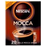 Nescafe Oploskoffie café mocca - 20 zakjes
