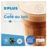 PLUS Koffiecapsules Café au lait Fairtrade