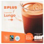 PLUS Koffiecapsules Lungo fairtrade