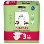 Muumi Baby 3 Midi 5-8kg (50st)